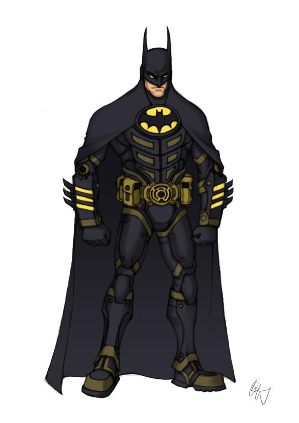 Batman Redesign 1 by Grailee