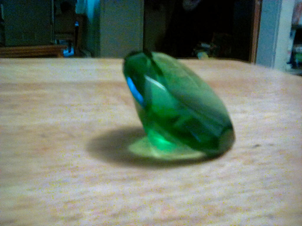 real life chaos emerald by goldendragon41 on deviantart
