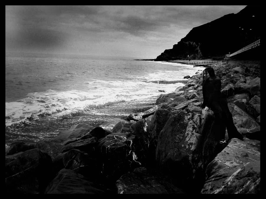 Wistful ocean