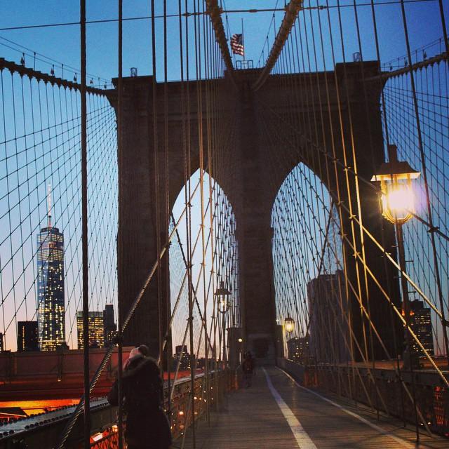 Brooklyn Bridge 2 by Blue-Eyed-Hippie-63