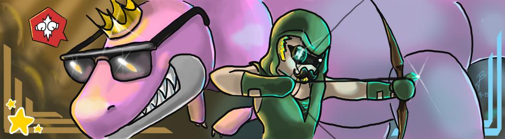 Scribblenauts buddies by DragonaDeMetal