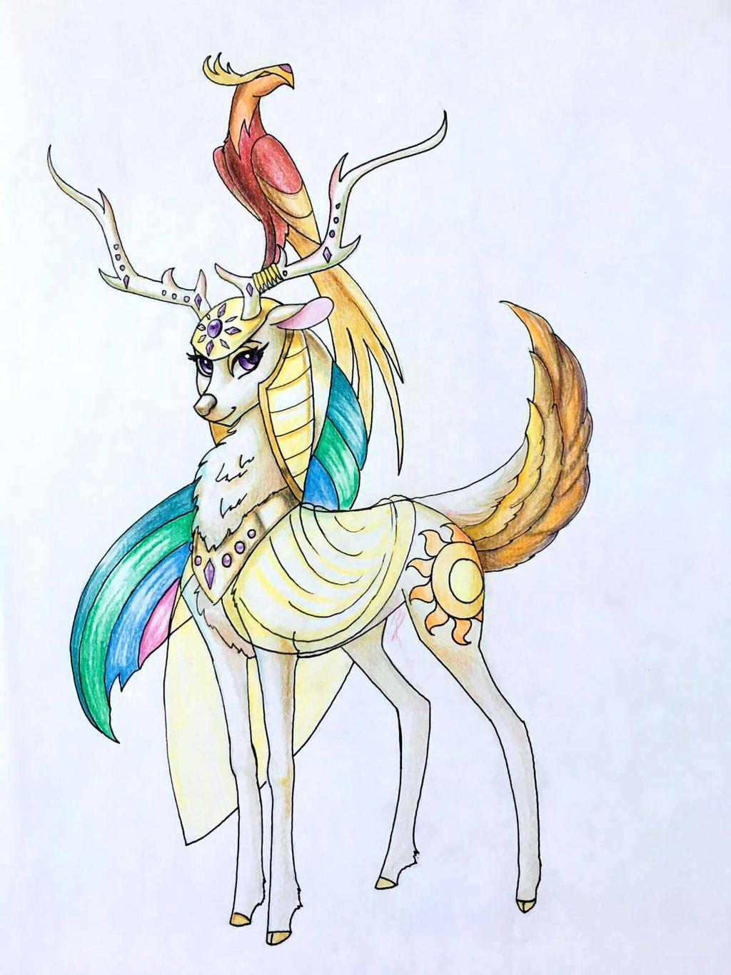 Deer Princess Celestia (PUN INTENDED)