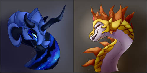 These dragons look familiar. by DragonaDeMetal