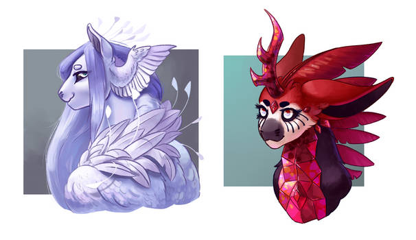 {Commission} Another two evoloon busts!