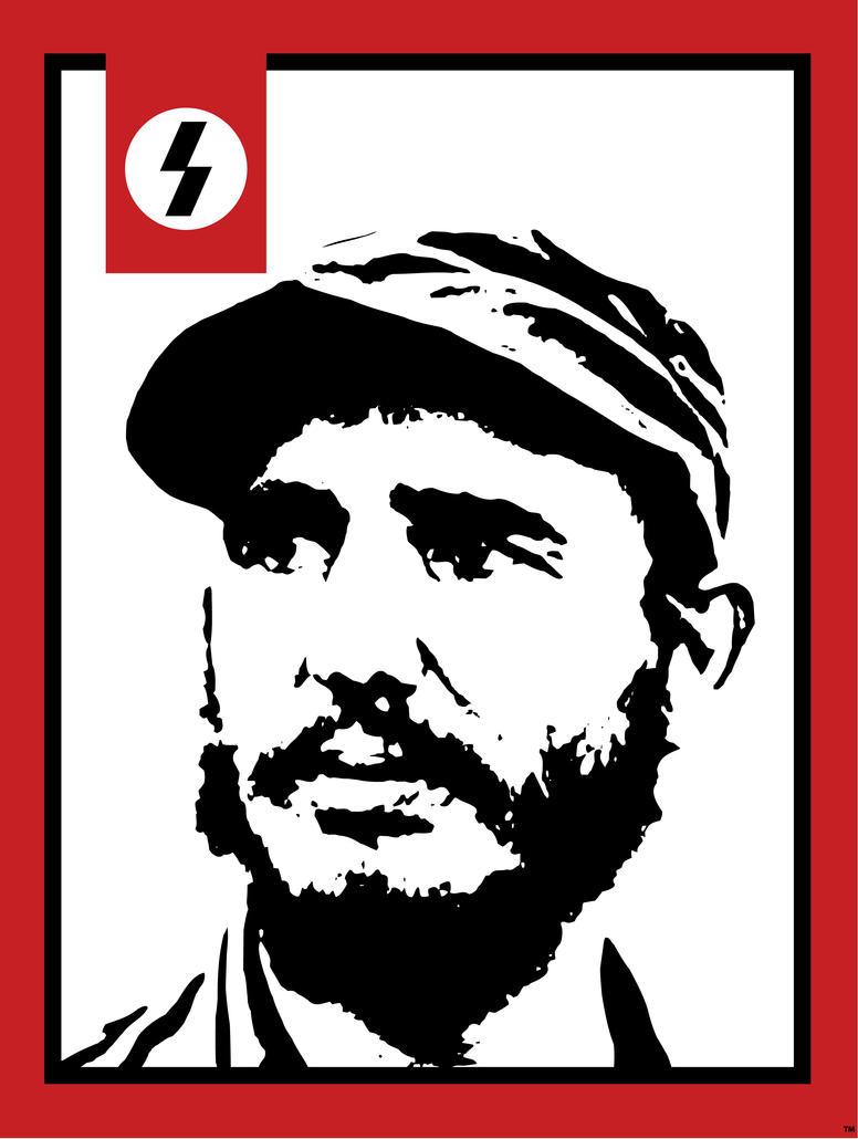 Sapien - Fidel Castro by Pixcaliba