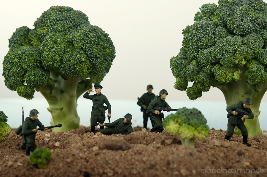 War in Broccoliville by Pixcaliba