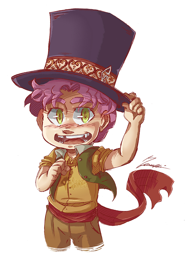 Magician Hat by AncelTheWolf