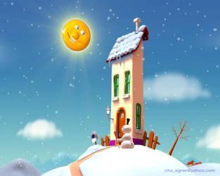 snow by cho74
