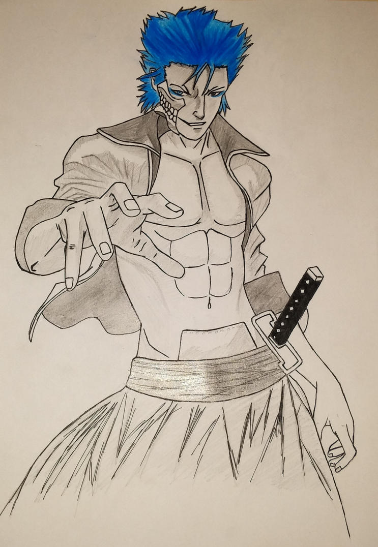 Grimmjow Jeagerjaques - Bleach by AkvileS