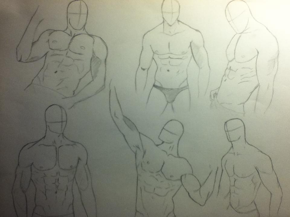 Male body by AkvileS