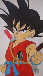 Kid Goku by AkvileS