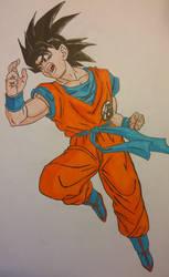 Goku again by AkvileS