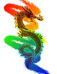 Colorful Dragon by AkvileS