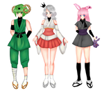Matching outfits contest by princess-red6