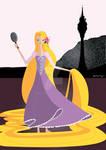 Origami - Rapunzel