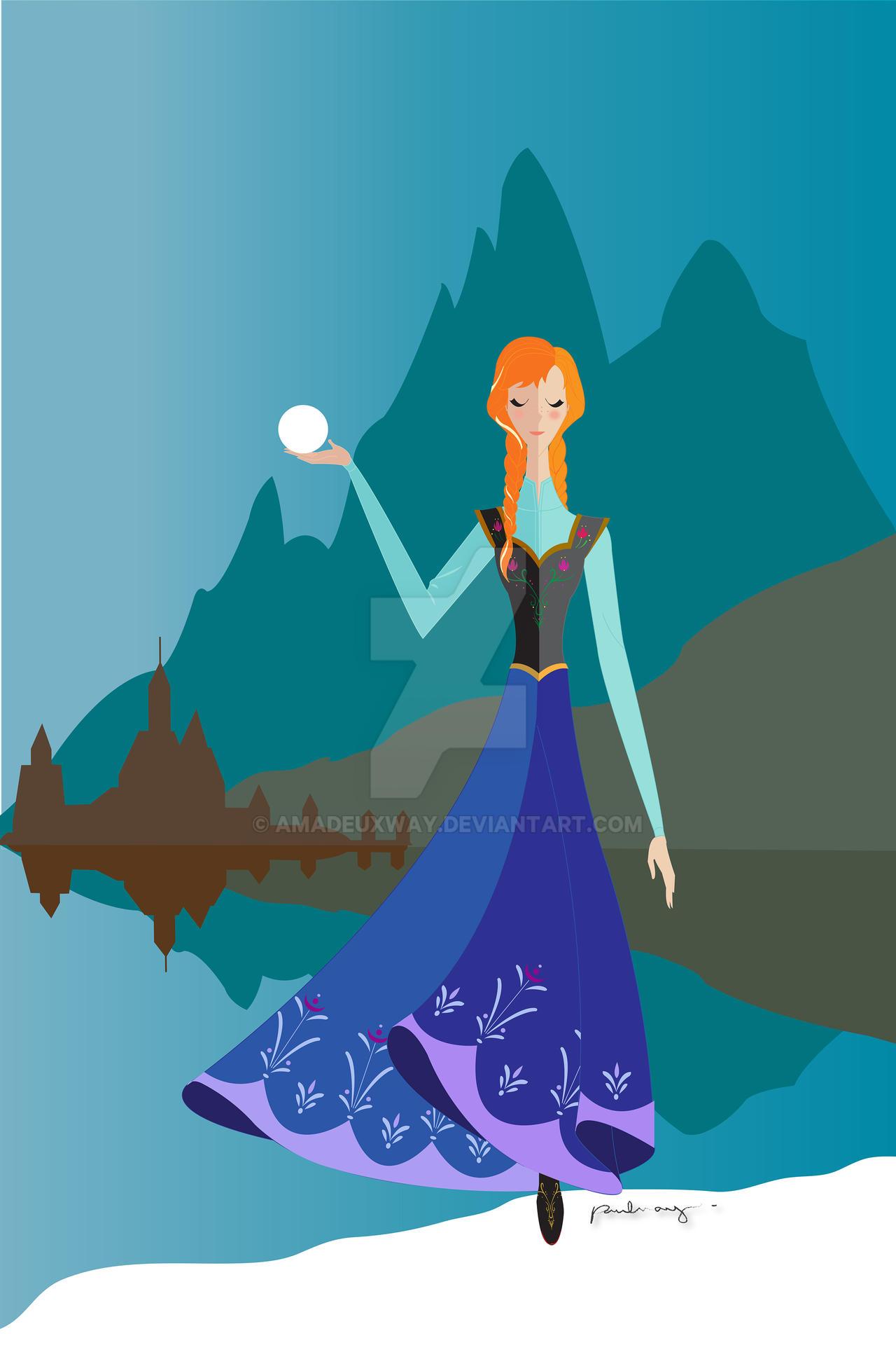 Origami - Princess Anna
