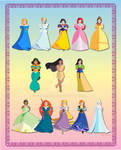 Cutesy Disney Princesses