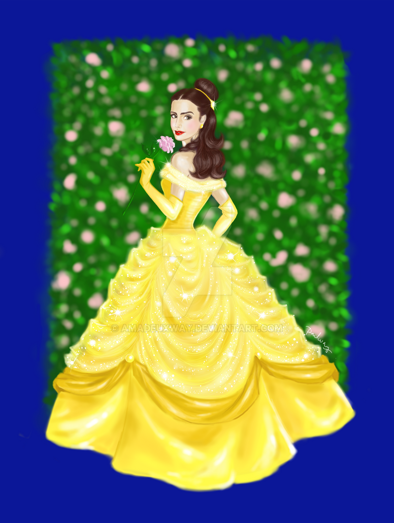 Lily Collins as Belle ...