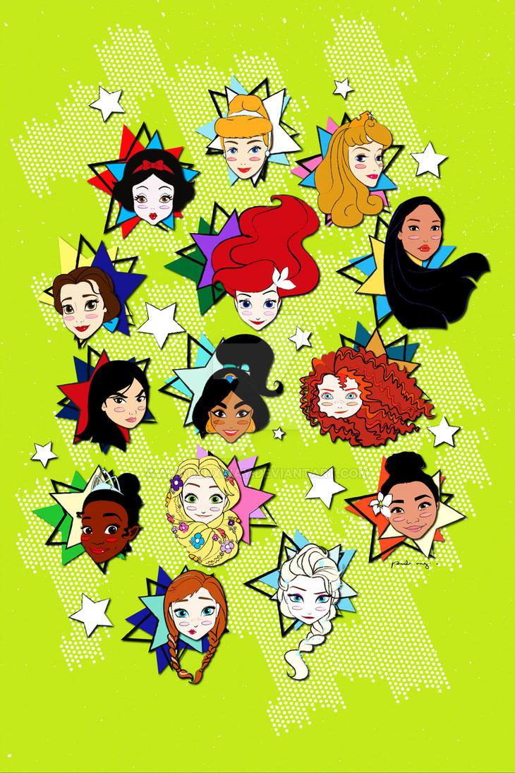 Popular Disney by AmadeuxWay