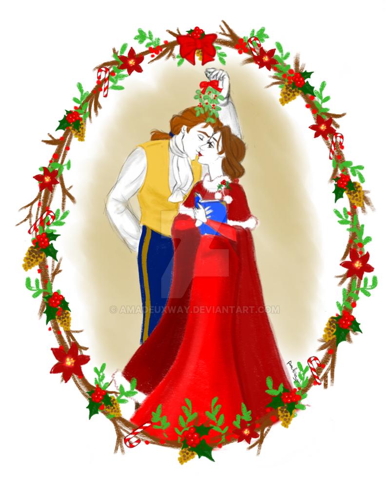 Mistletoe Kisses by AmadeuxWay
