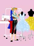 Dream big, Princess! - Cinderella the Tailor