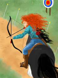 Dream Big, Princess! - Merida
