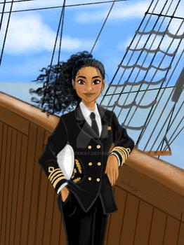 Dream Big, Princess - Moana the Sea Captain