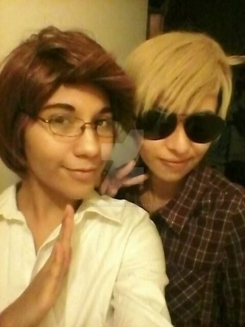 APH: Thai n' USA cosplay by undercreed-genesis