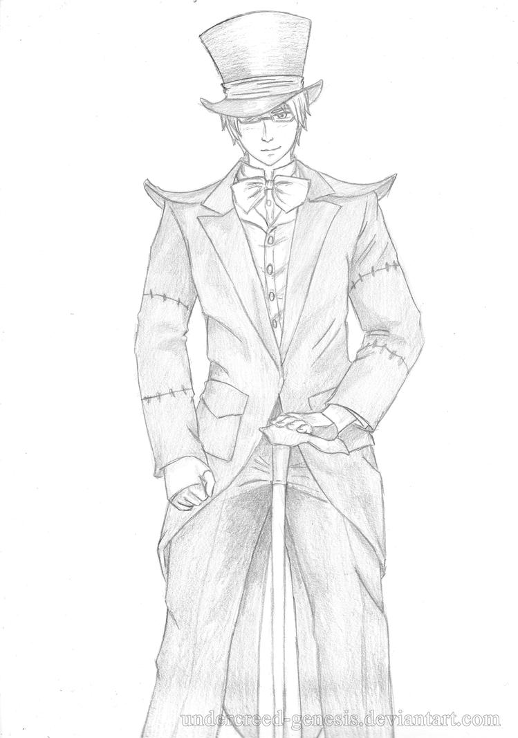 APH: Alfred the Mad Hatter by undercreed-genesis