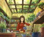 My own Ghibli scenery