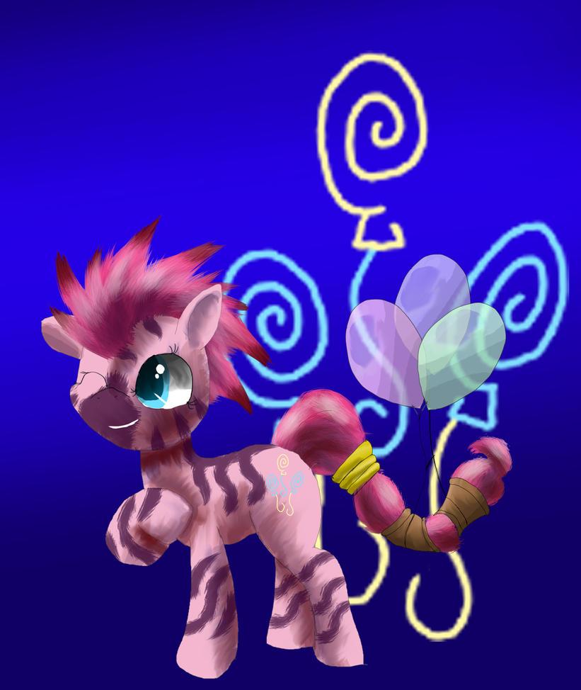 Zebra Pinkie Pie by SuperRobotRainbowPig