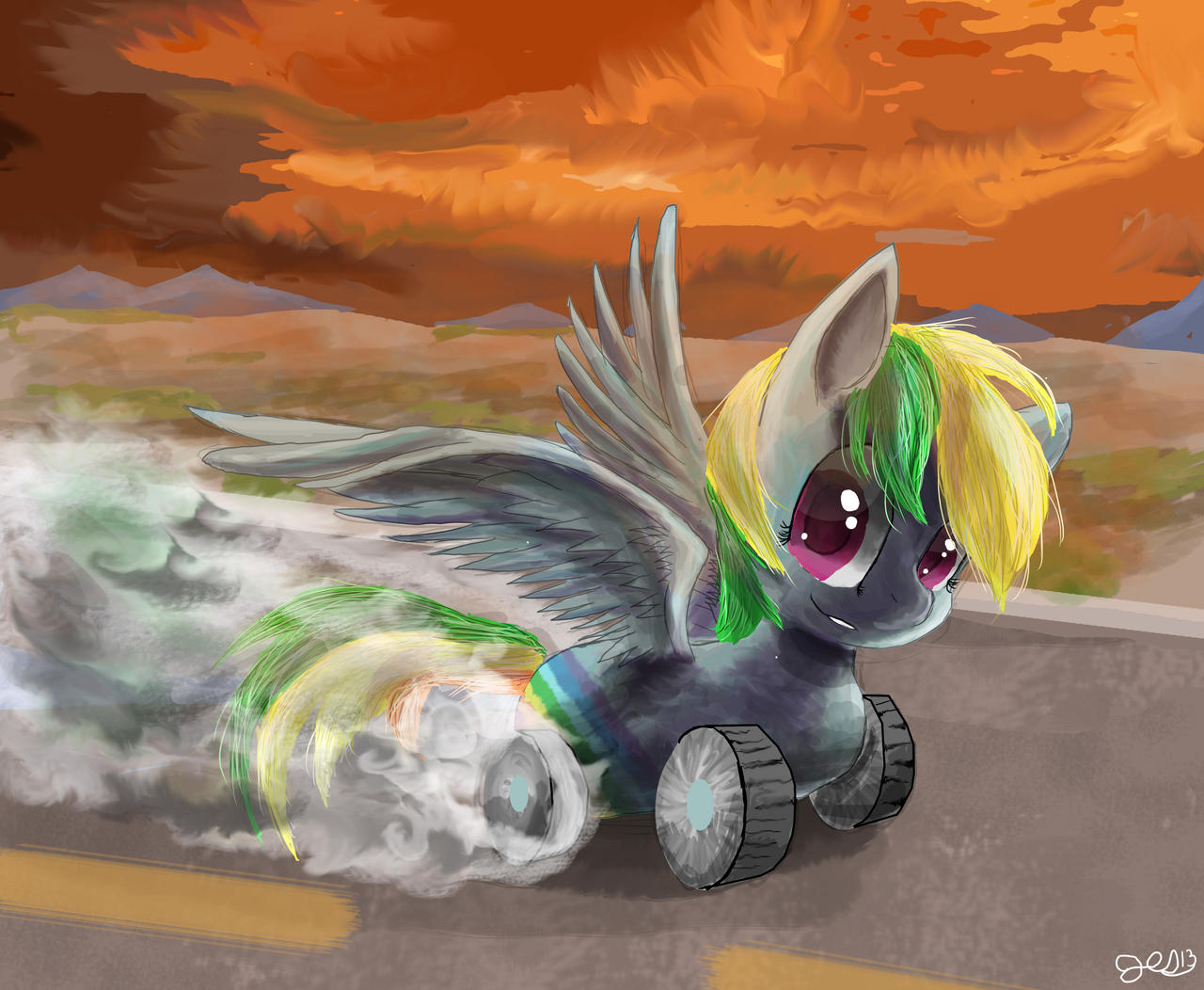 Wheely bopper by SuperRobotRainbowPig