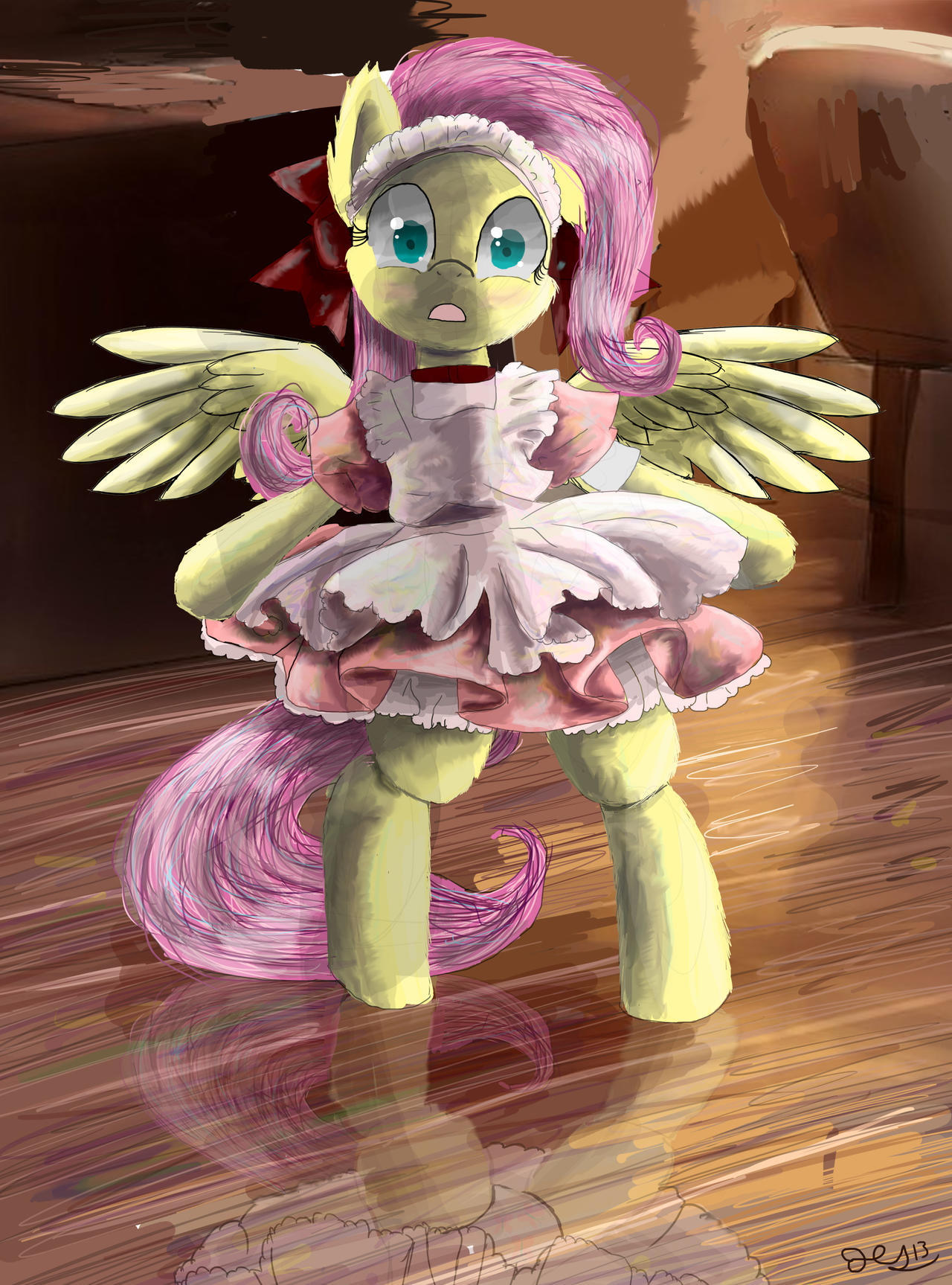 FlutterMaid by SuperRobotRainbowPig