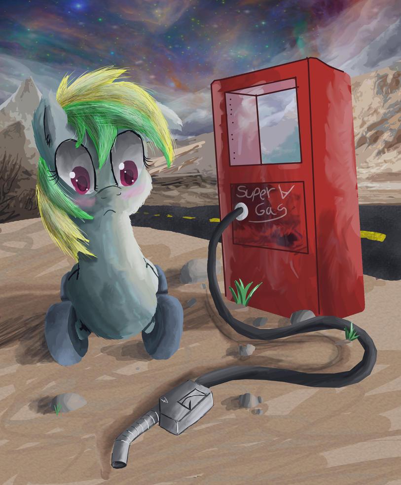 Gas Pump by SuperRobotRainbowPig