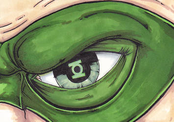 Green Lantern Eye by William-Kunkle