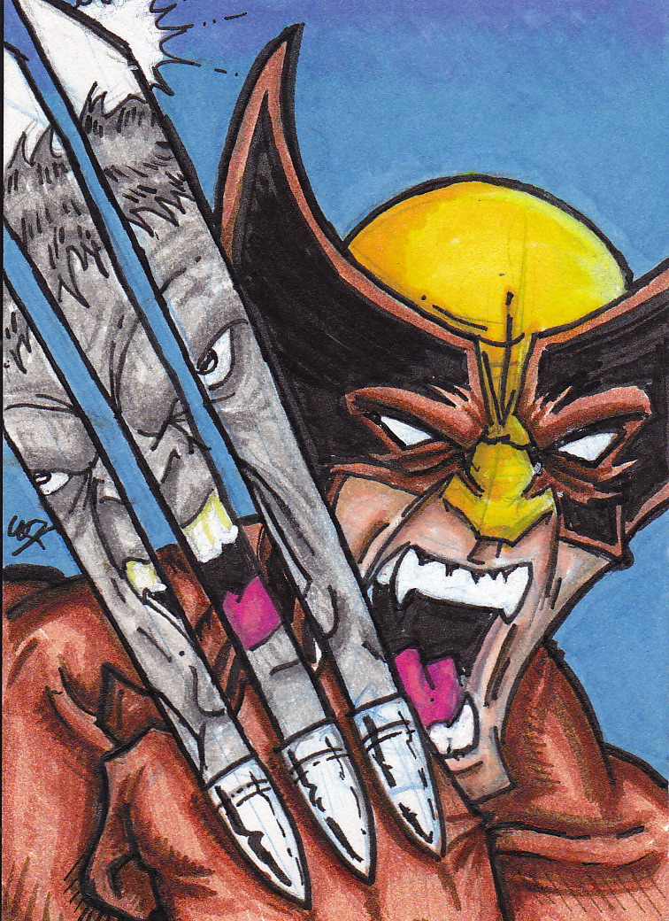 Wolverine Hulk reproduction cover PSC