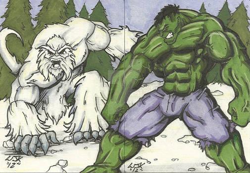 Hulk Vs. Wendigo