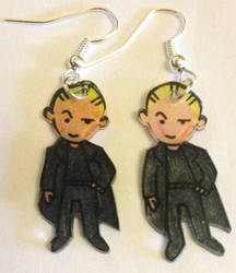 Spike earrings by Lovelyruthie