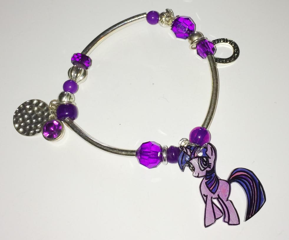 MLP FIM Twilight Sparkle bracelet by Lovelyruthie