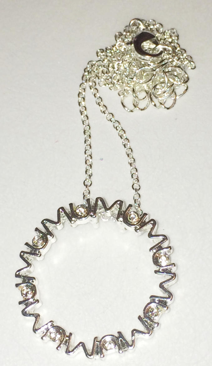 Mum necklace by Lovelyruthie