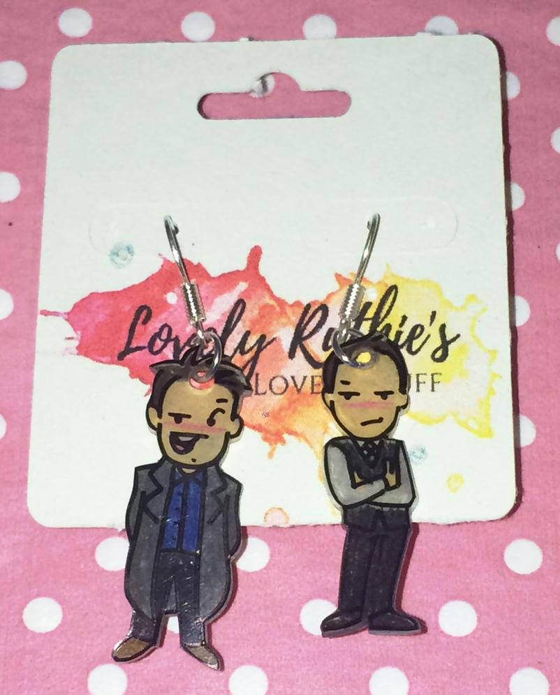 Janto earrings by Lovelyruthie