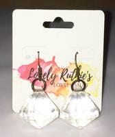 Crystal earrings by Lovelyruthie
