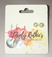 Pearl earrings set by Lovelyruthie