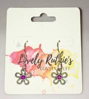 5 Petal Flower Earrings by Lovelyruthie