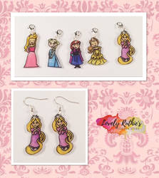Disney Princess Jewellery by Lovelyruthie