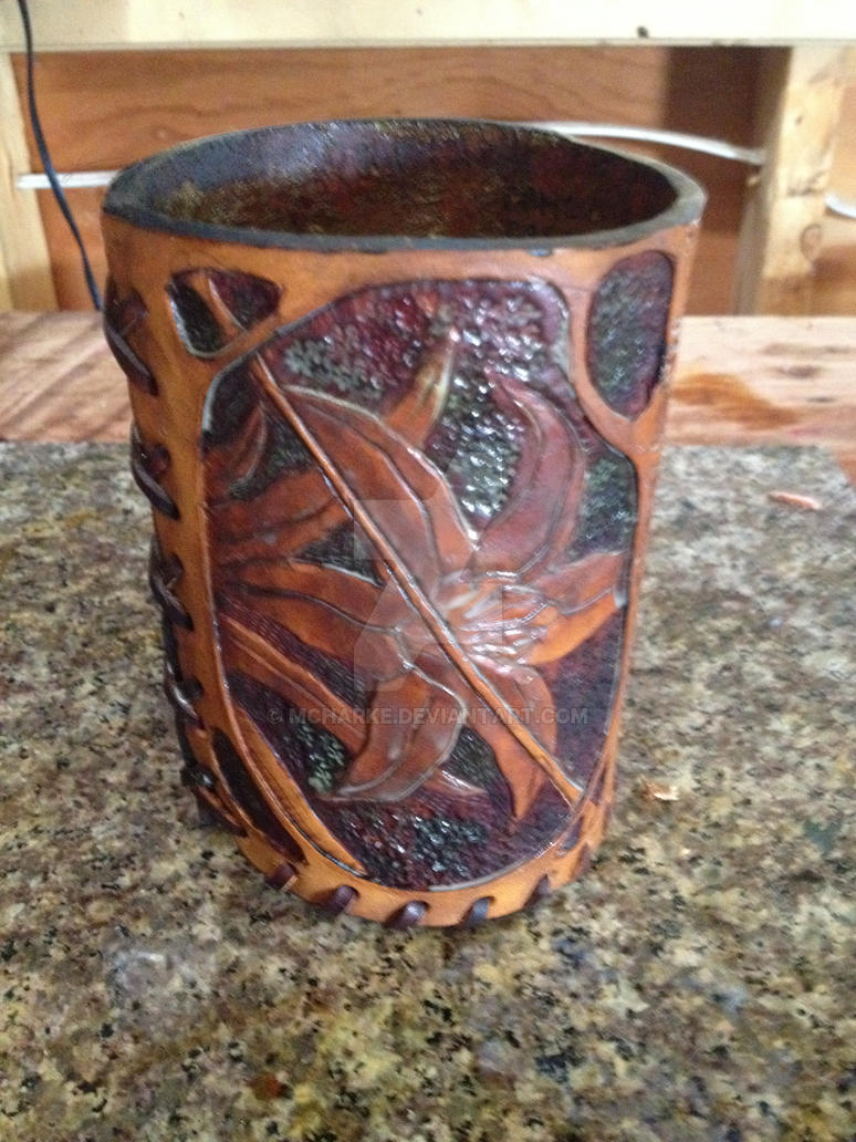 Leather Dice Cup by MCharke
