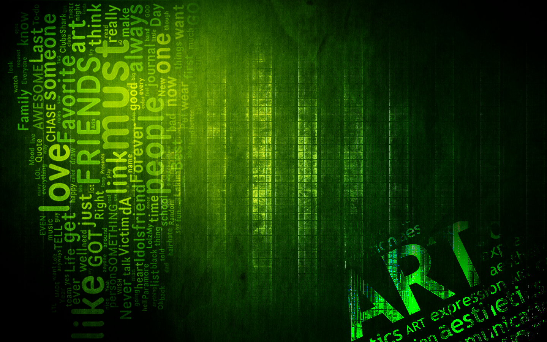 Green WallPaper by CRIS01 on DeviantArt