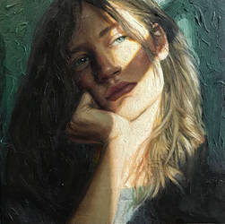 'Bright Side' ~ Self Portrait by DannikaSull