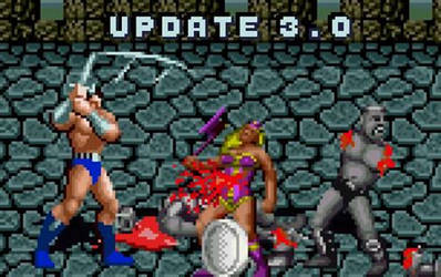Golden Axe Genesis, new update (version 3.0)