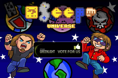 SEEP Universe, now on Steam Greenlight!